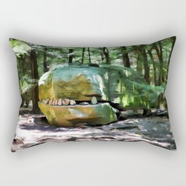 Alligator Rock 1 Rectangular Pillow
