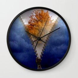 autumn days Wall Clock
