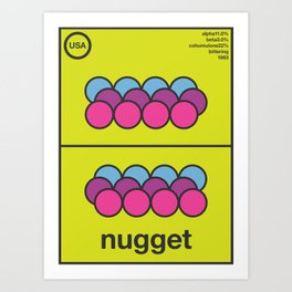 nugget single hop Art Print