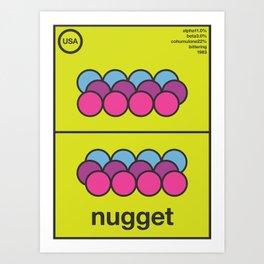 nugget single hop Art Print