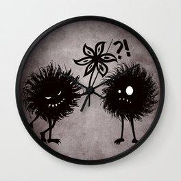 Kind Evil Bugs Wall Clock