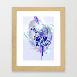 Don't kill ideas Framed Art Print
