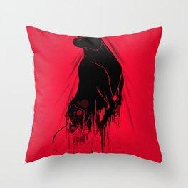 Revenge Of The Toro Throw Pillow