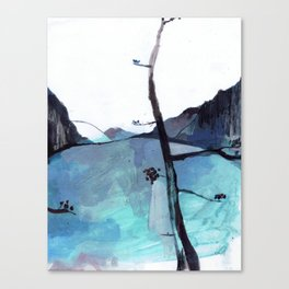 ALASKA SKETCHBOOK Canvas Print