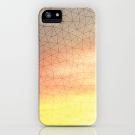 Montage Mountain Sunset iPhone Case