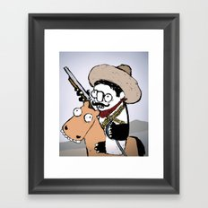 Emiliano Zapata Framed Art Print