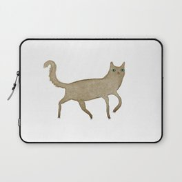 Suspicious-Looking Moggy Laptop Sleeve