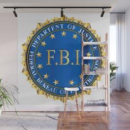 FBI Spoof Seal Wall Mural