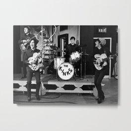 The Kinks Ready Steady Go 1966 Metal Print