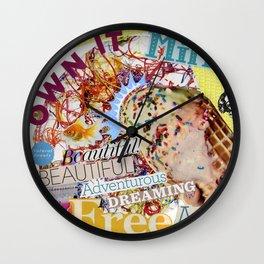 Mood Board: Mint Wall Clock