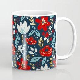 Fireworks Floral Coffee Mug