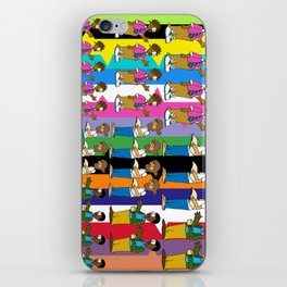 A Discussion Between Professors iPhone Skin