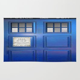 doctor who public box  Rug