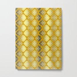 Shades Of Gold Metal Print