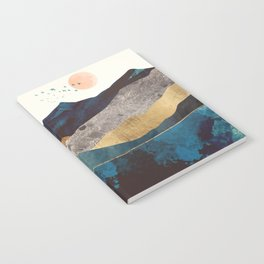 Blue Mountain Reflection Notebook