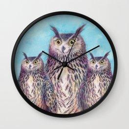 Mr. Owl Wall Clock