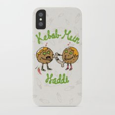 Kebab Mein Haddi iPhone X Slim Case