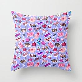 Girl things Throw Pillow