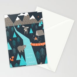 Happy Camper Stationery Cards