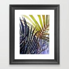 Arecaceae - household jungle #3 Framed Art Print