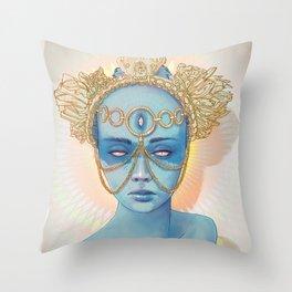 Oculi Divina Throw Pillow