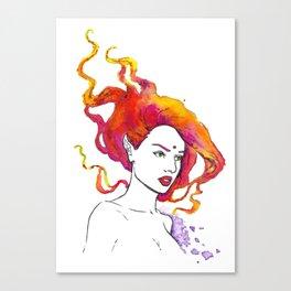 Ember Canvas Print