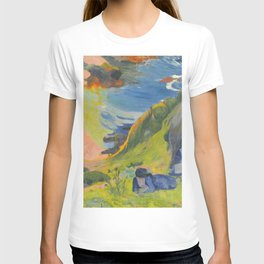 "Paul Gauguin ""Au-dessus de la mer (Above the sea)"" T-shirt"