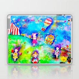 A day at the circus Laptop & iPad Skin