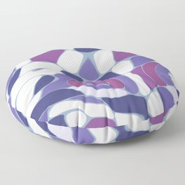 Funky Abstract 3 Floor Pillow