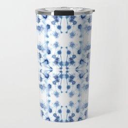 Mirror Dye Blue Travel Mug