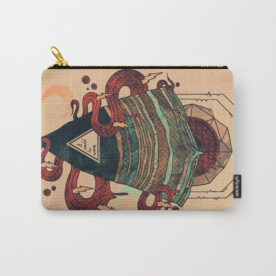 Positive Thinking Carry-All Pouch