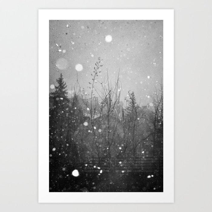Winter Vail Colorado  Art Print