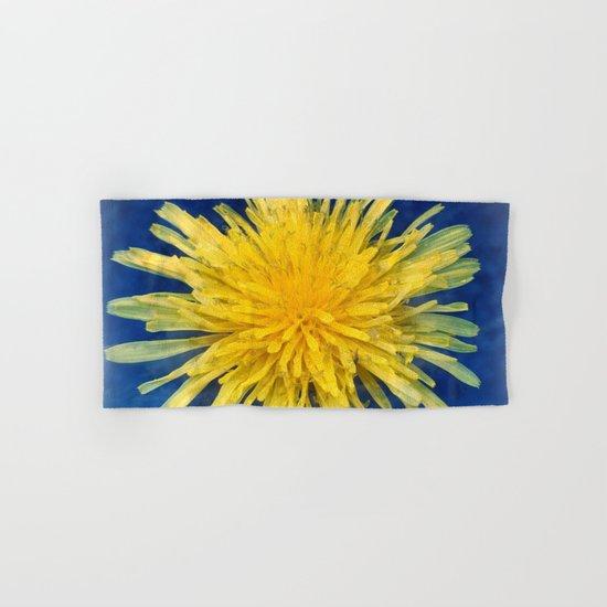 Dandelion Blues Hand & Bath Towel