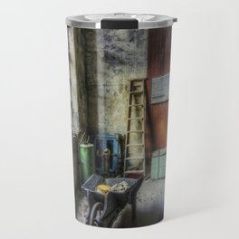 Olde Victorian Slate Workshop Travel Mug