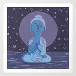 Buddha F Art Print