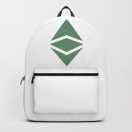Ethereum Classic (ETC) Logo Backpack