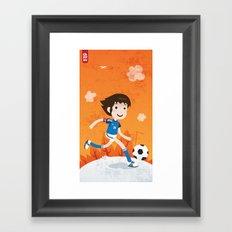 Tsubasa Framed Art Print