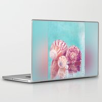 seashell Laptop & iPad Skins featuring Seashell Group by INA FineArt
