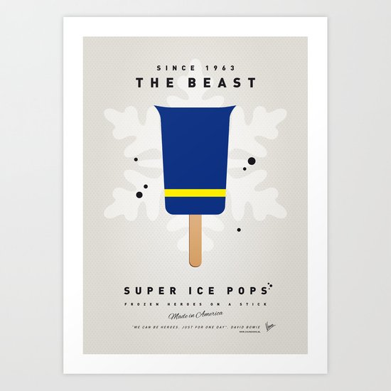 My SUPER ICE POP- No09 Art Print