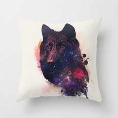 Universal Wolf Throw Pillow