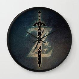A Warrior symbol Wall Clock