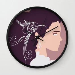 Maze Girl Wall Clock
