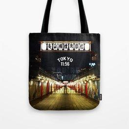 Tokyo 11:56 Tote Bag