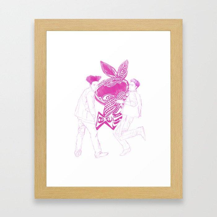 GD+TOP Framed Art Print