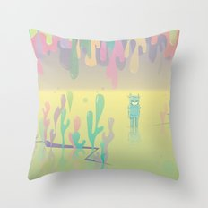 one more world Throw Pillow