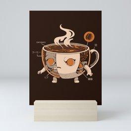 Coffeezilla X-ray Mini Art Print