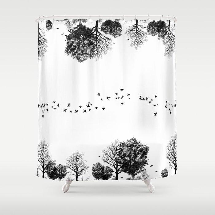black forrest Shower Curtain