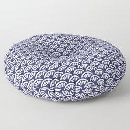 Decorative Seigaiha // Japanese Collection Floor Pillow
