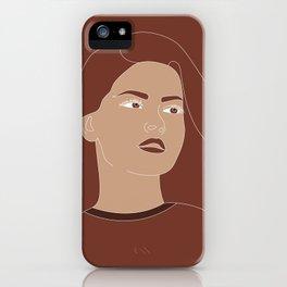 Female Portrait #1 iPhone Case