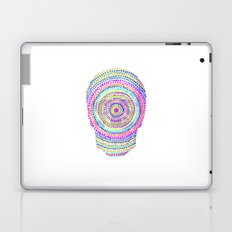 divisionism skull mandala Laptop & iPad Skin